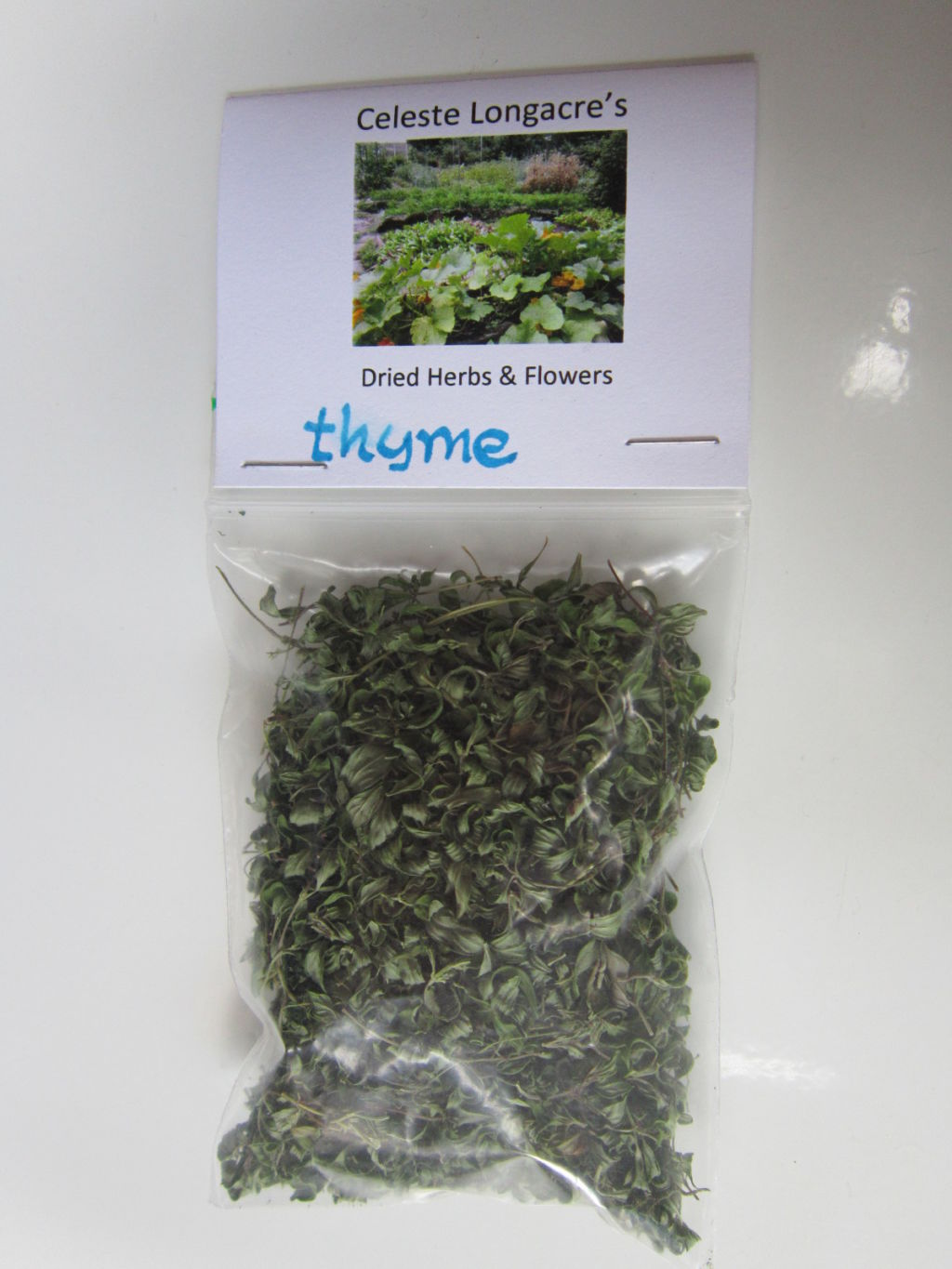 Buy Dried Herbs and Edible Flowers From Celeste's Farm